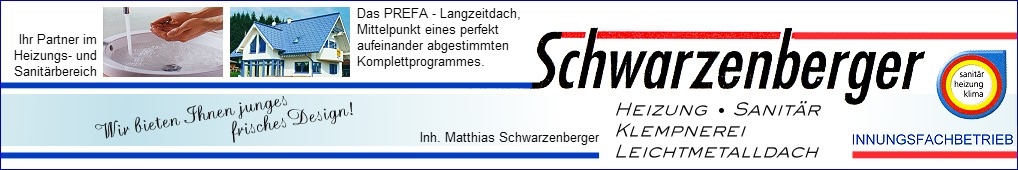 Heizung-Sanitär-Klempnerei-Leichtmetalldach Matthias Schwarzenberger in Glauchau